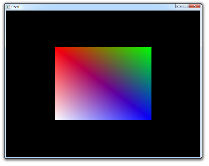 Interpolated colors