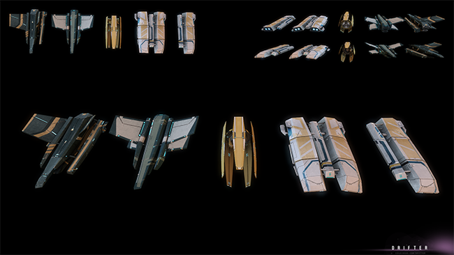 new ships