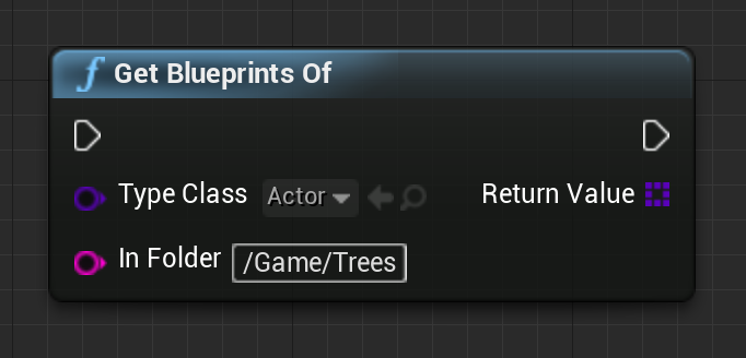 Ue4 list blueprint assets by type youll notice that type class filter this is useful to be specific about the sub class so that you can cast knowing each result is of the right type malvernweather Image collections