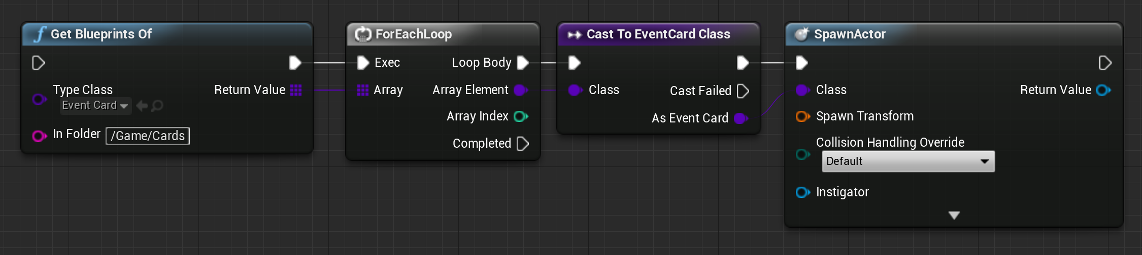 UE4 - list blueprint assets by type
